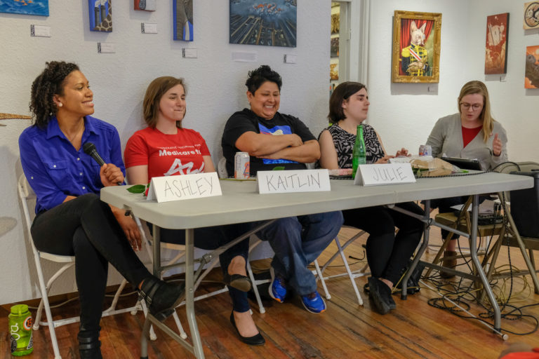Socialist Feminist Committee hosts Q & A panel for International Women's Day